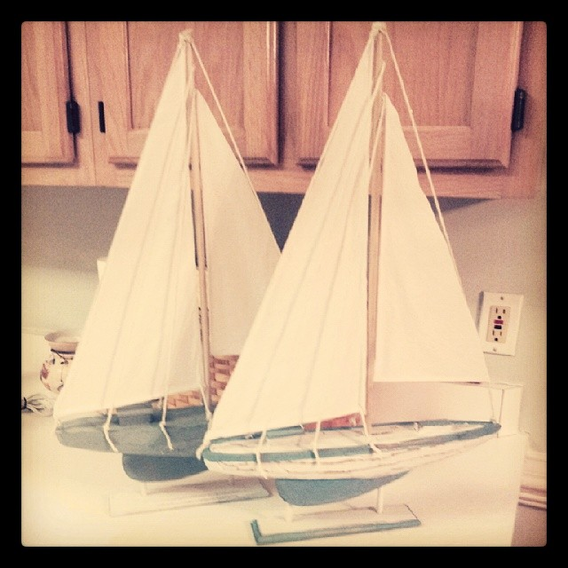 Crafting sailboats for the Sea Spray Condo