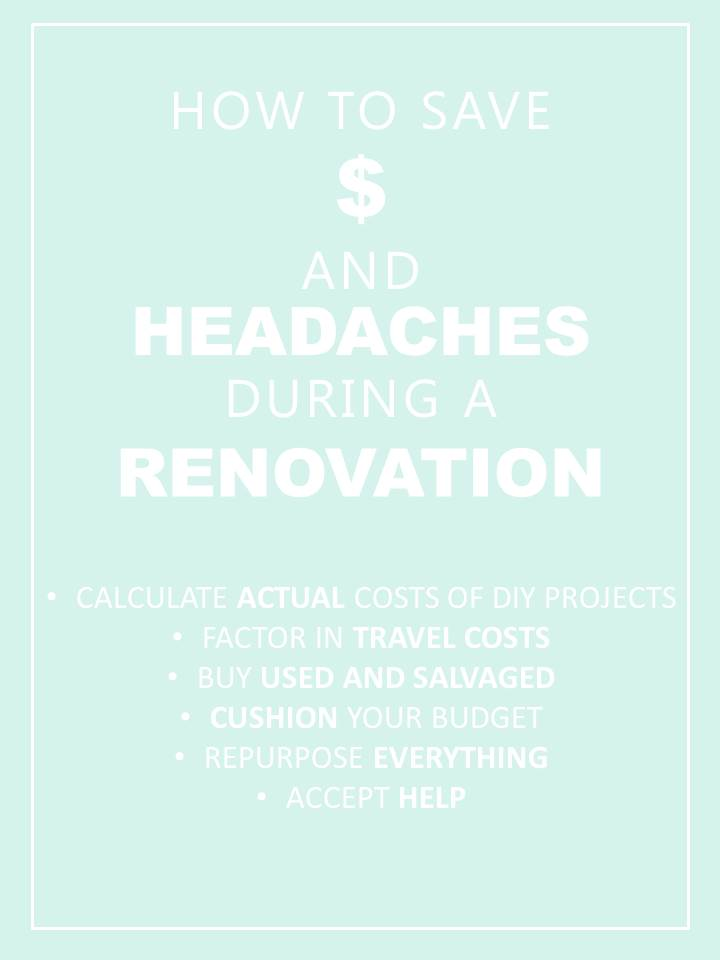 Elizabeth Burns Design | How To Save Money in a Renovation