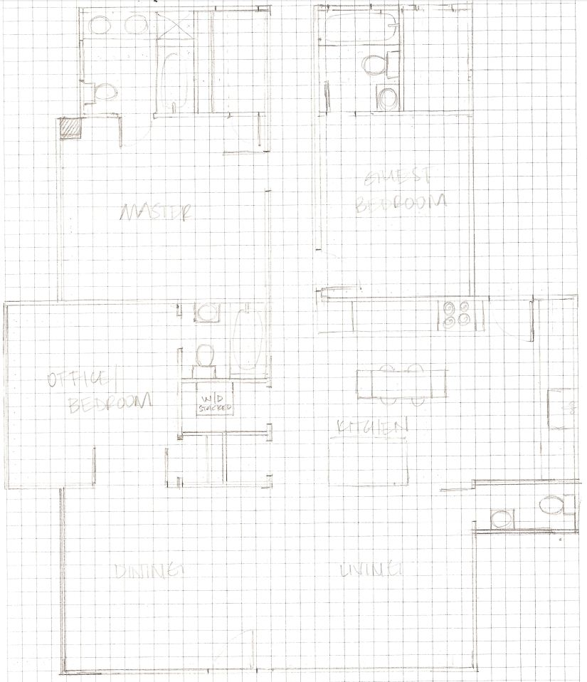 Elizabeth Burns Design | Myrtle House Floorplan