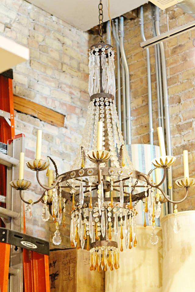 If only I could get this chandelier on a plane...