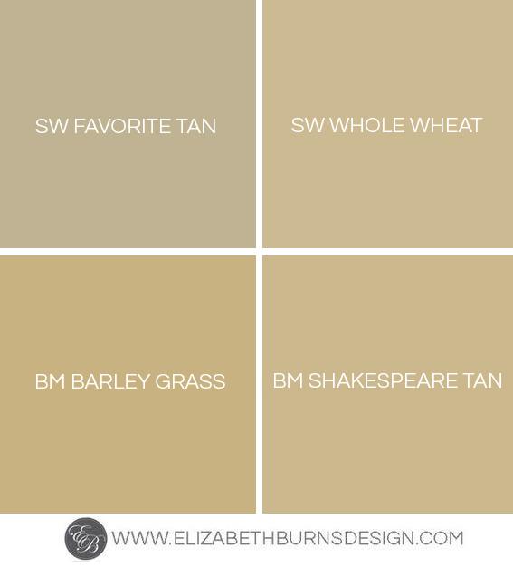 Popular Tan Interior Paint Colors