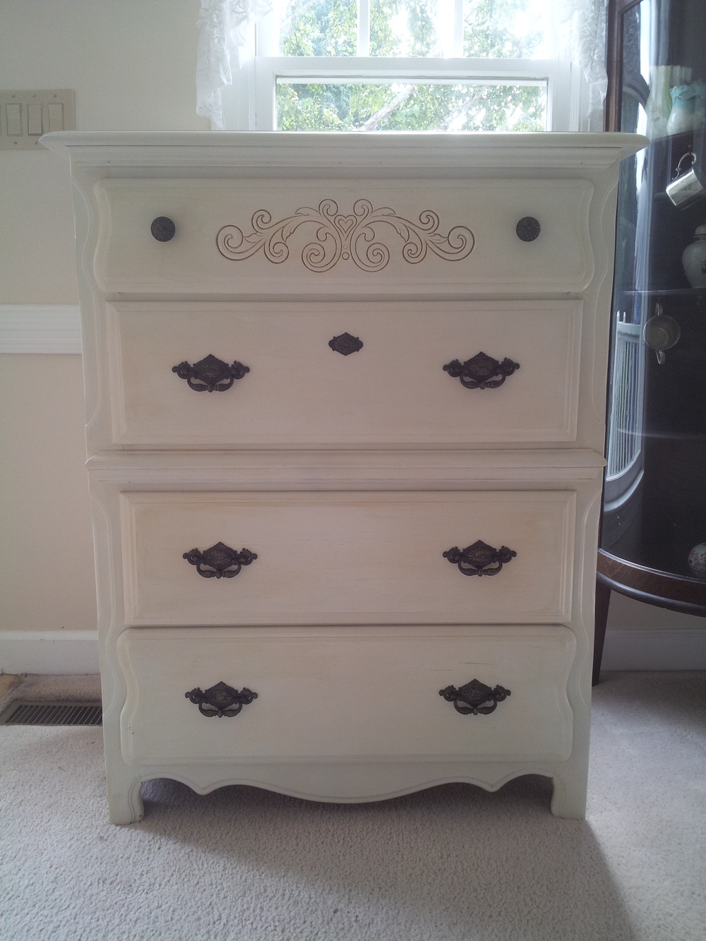 Elizabeth Burns Design | Stanley Chest Before and After