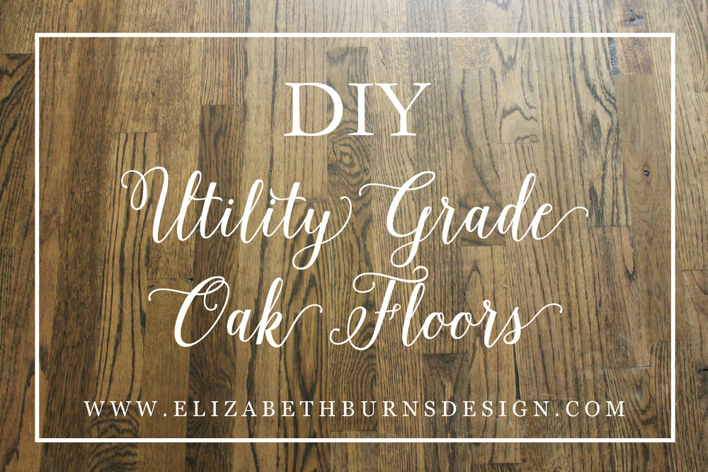 Our Utility Grade Oak Floors Myrtle House Elizabeth