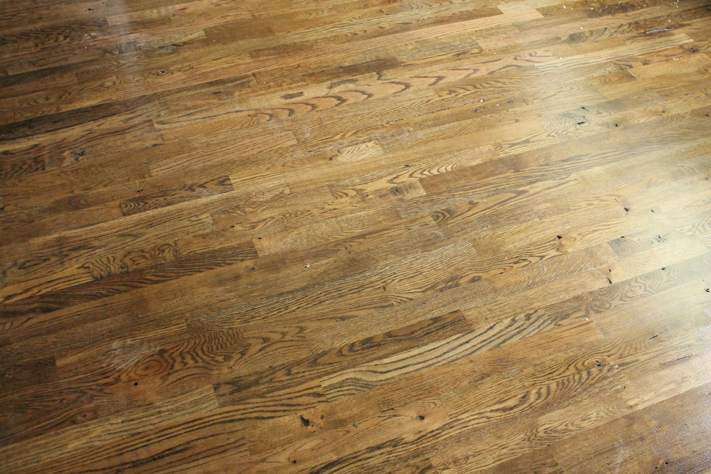 Our Utility Grade Oak Floors Myrtle House Elizabeth Burns Design - Hard floor liquidators