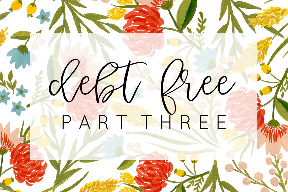 Elizabeth Burns Design | Becoming Debt Free