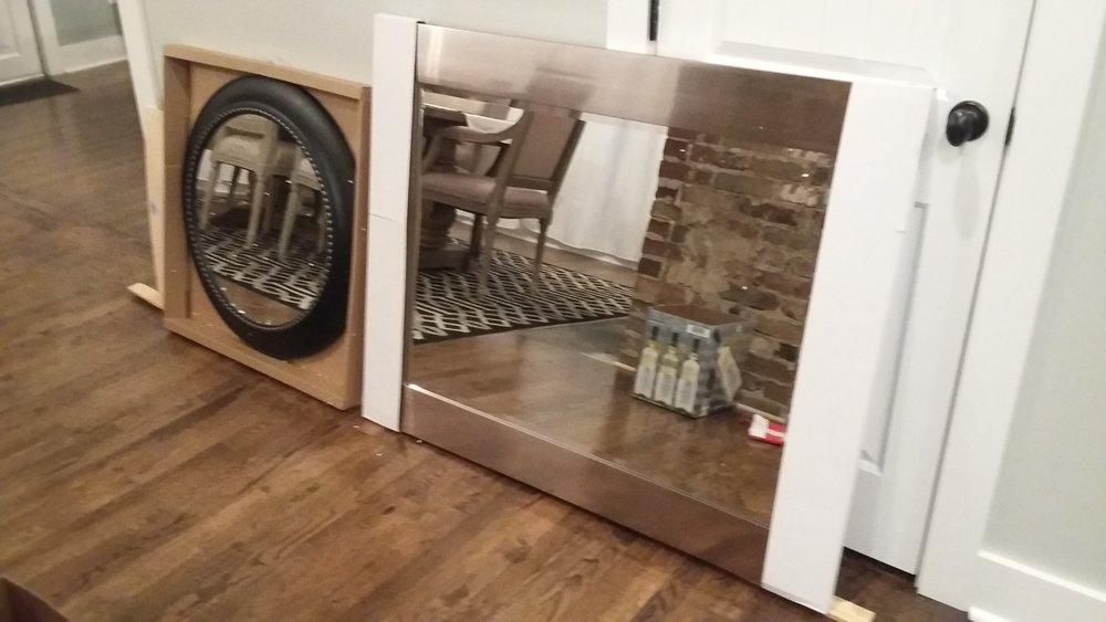 Flip Bathroom Mirrors
