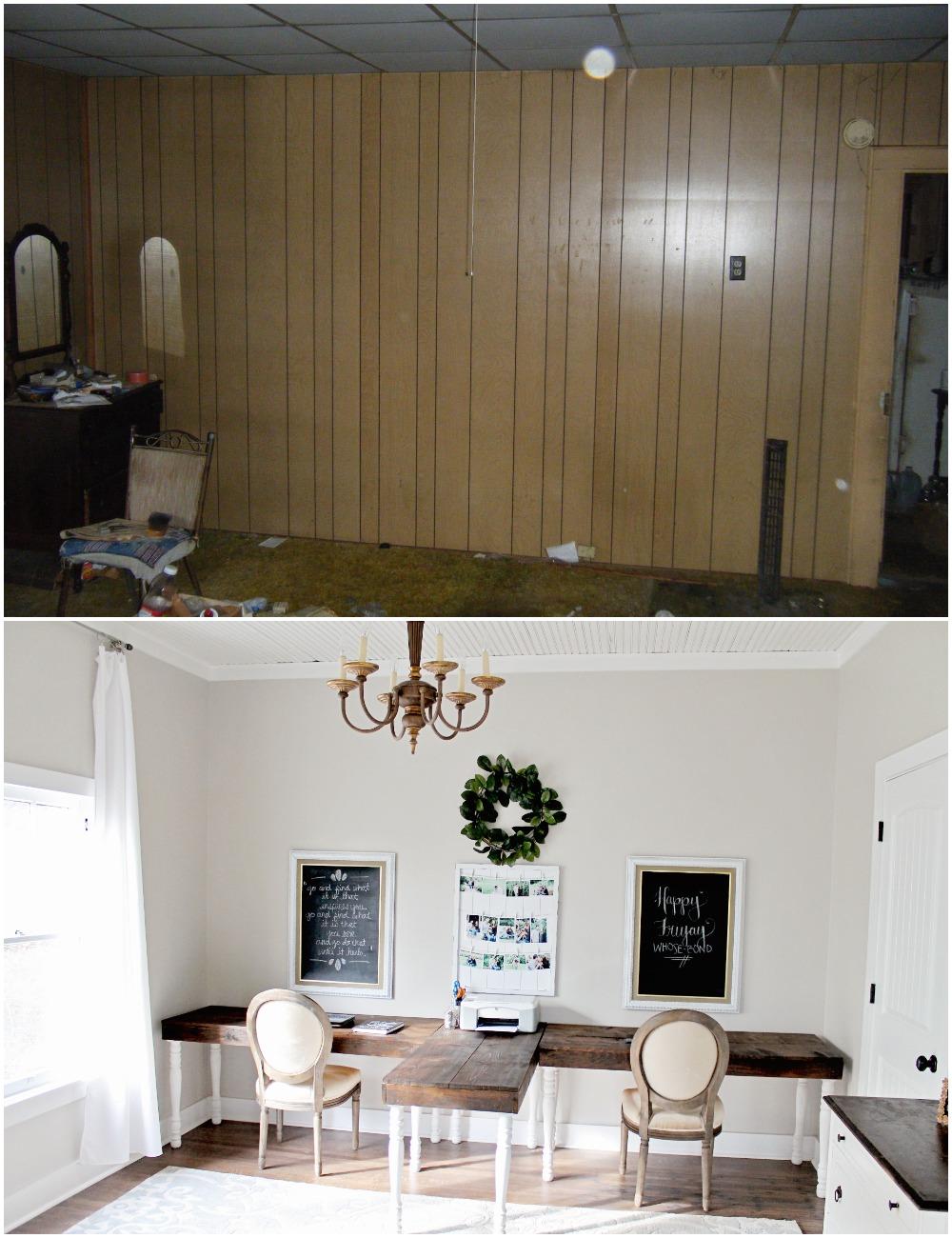 Myrtle House Before U0026 After: Office U2014 Elizabeth Burns Design, Raleigh NC  Interior Designer