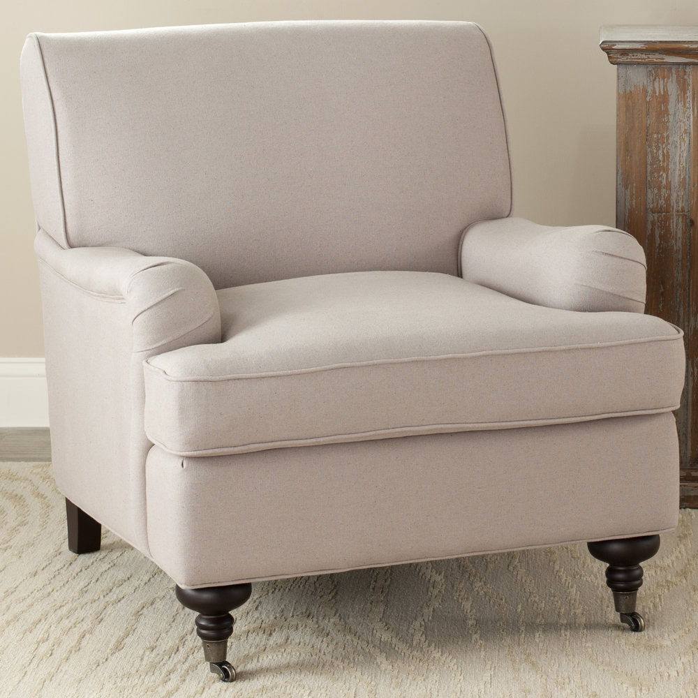 Taupe Linen Chair | ON SALE $286.99
