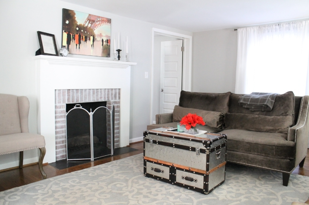 Elizabeth Burns Design | Perfect Pure Gray Paint Colors   Sherwin Williams  Lattice. You May Recognize That Living Room!