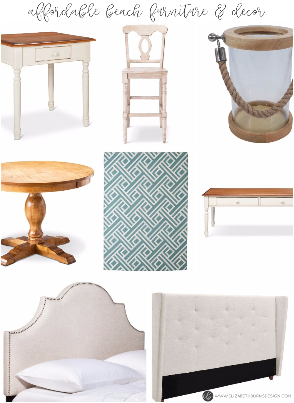 Elizabeth Burns Design | Affordable Beach Inspired Furniture and Decor - Target Clearance