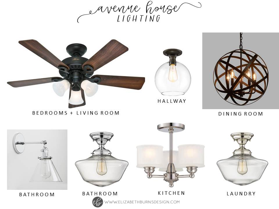 House Flipping Lighting Selections - Oil Rubbed Bronze, Chrome, and Polished Nickel Glass Pendants and Chandeliers. Modern Craftsman Lighting