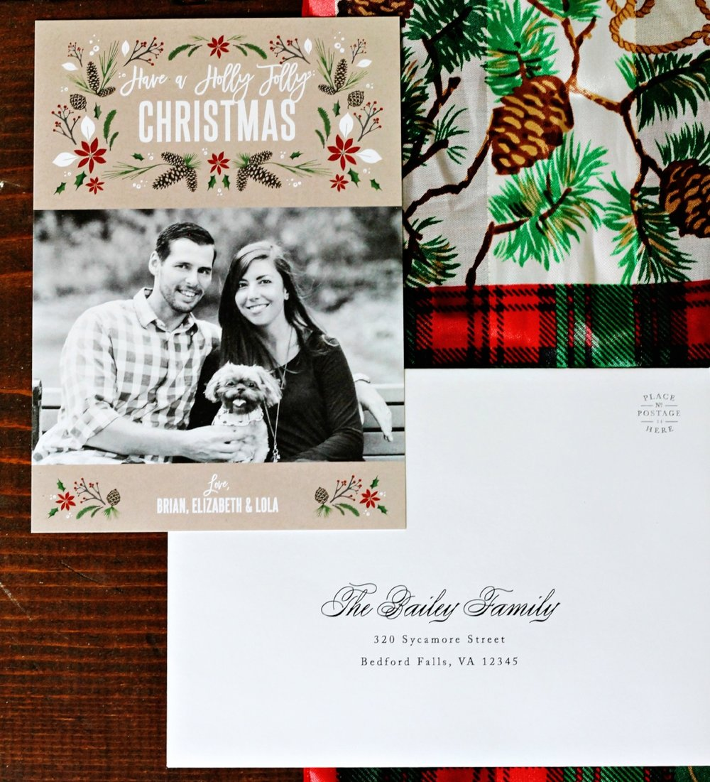 Basic Invite - Beautiful Custom Photo Christmas Cards