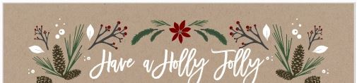 Basic Invite - Beautiful Custom Photo Christmas Cards Fonts