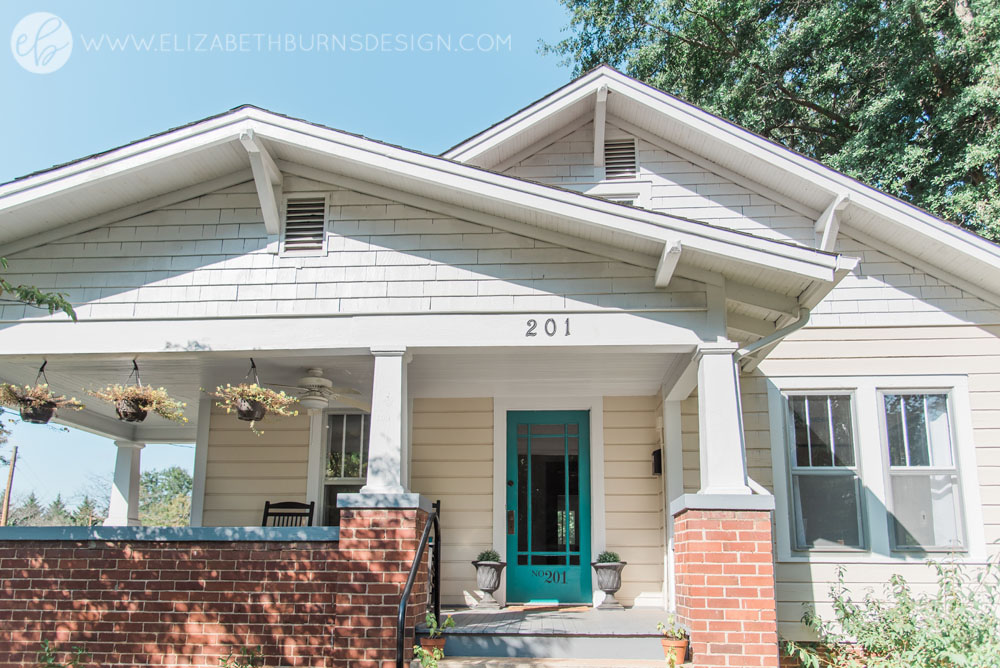 house flipping curb appeal on a budget diy fire pit craftsman bungalow exterior