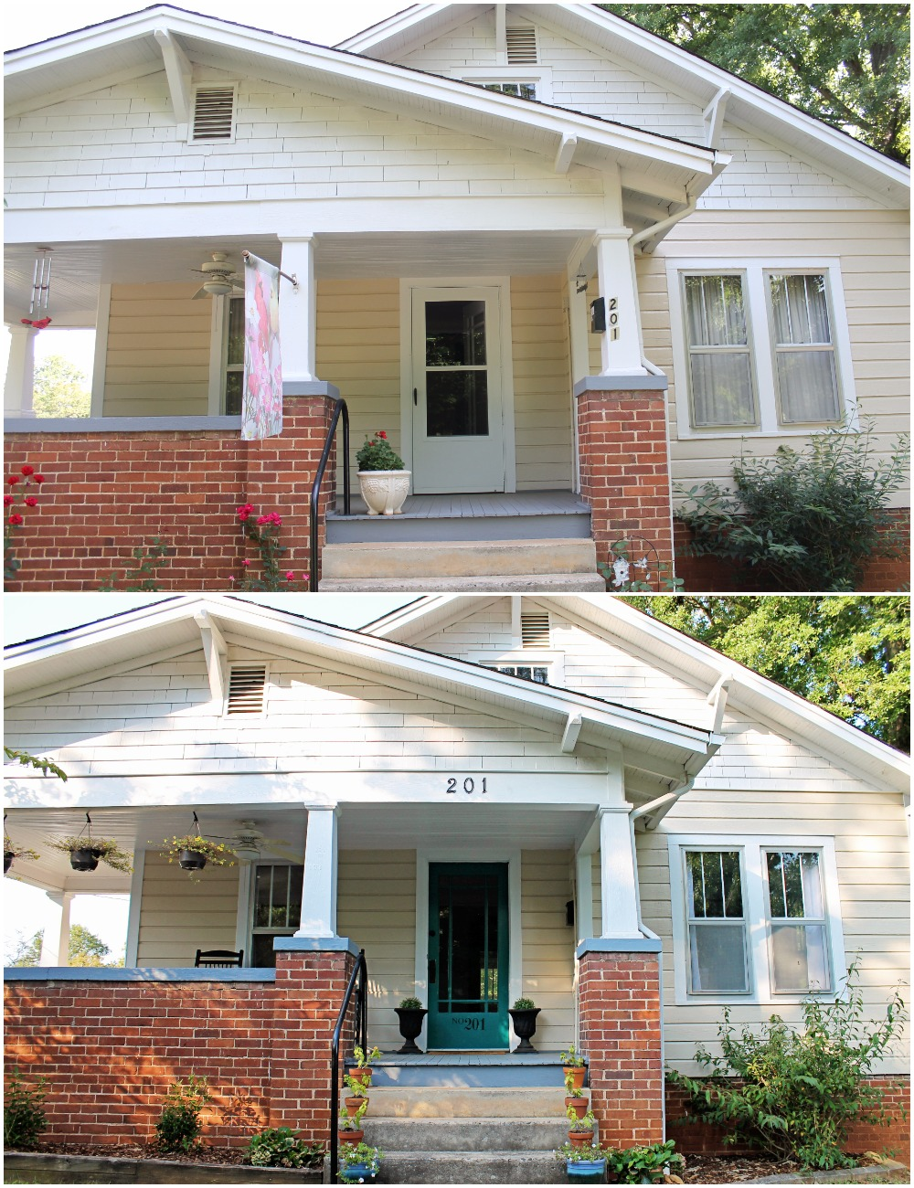 House Flipping Before and Afters - Curb Appeal and Backyard on a Budget DIY (5).jpg