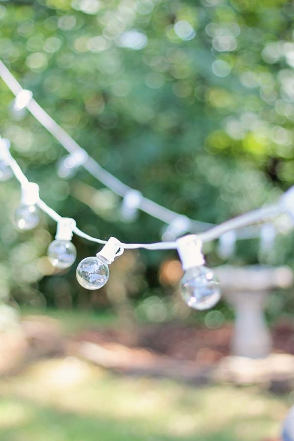 String Lights - DIY Fire Pit - House Flip