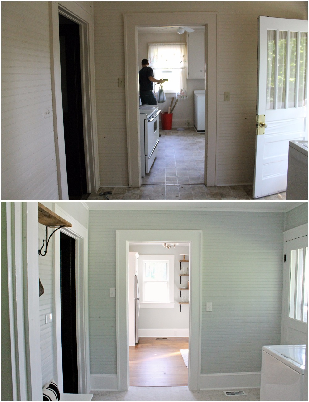 House Flipping Before and Afters - DIY BUDGET LAUNDRY ROOM MUD ROOM IDEAS (2).jpg