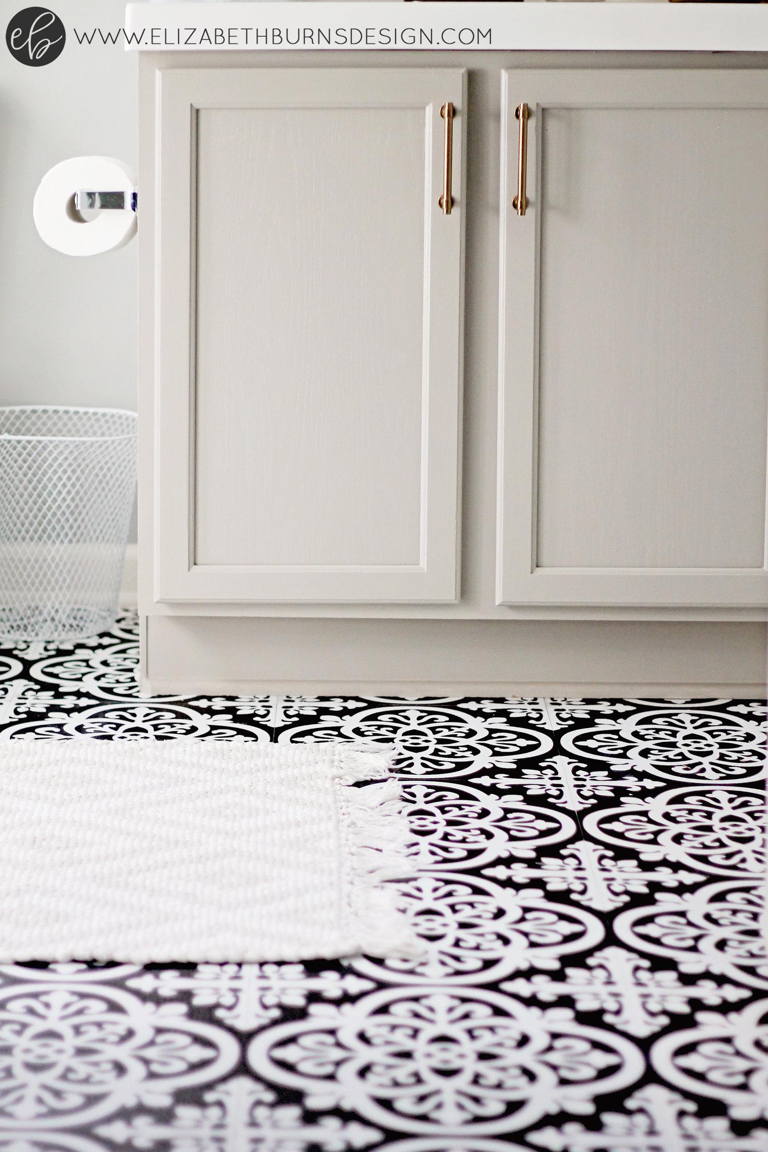 Review of WallPops Peel and Stick Vinyl Floor Tiles FloorPops