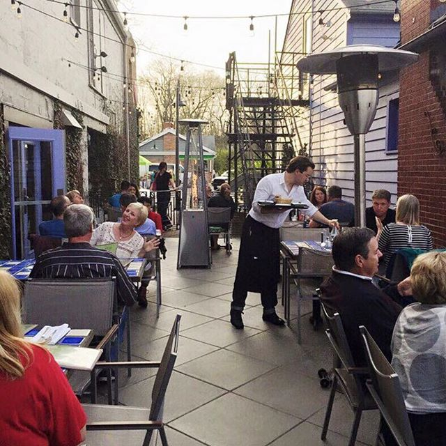 It's a perfect evening for a night out on the patio!