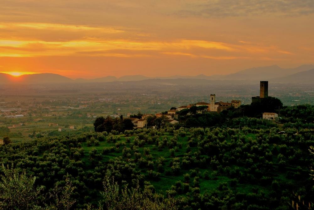 Larciano Castello, Tuscany