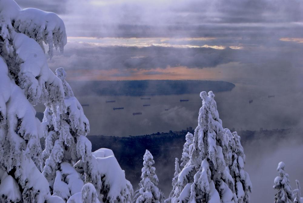 Burrand Inlet, Vancouver, British Columbia