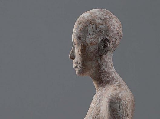 Zeder (Detail), 2017, 180 x 30 x 35 cm
