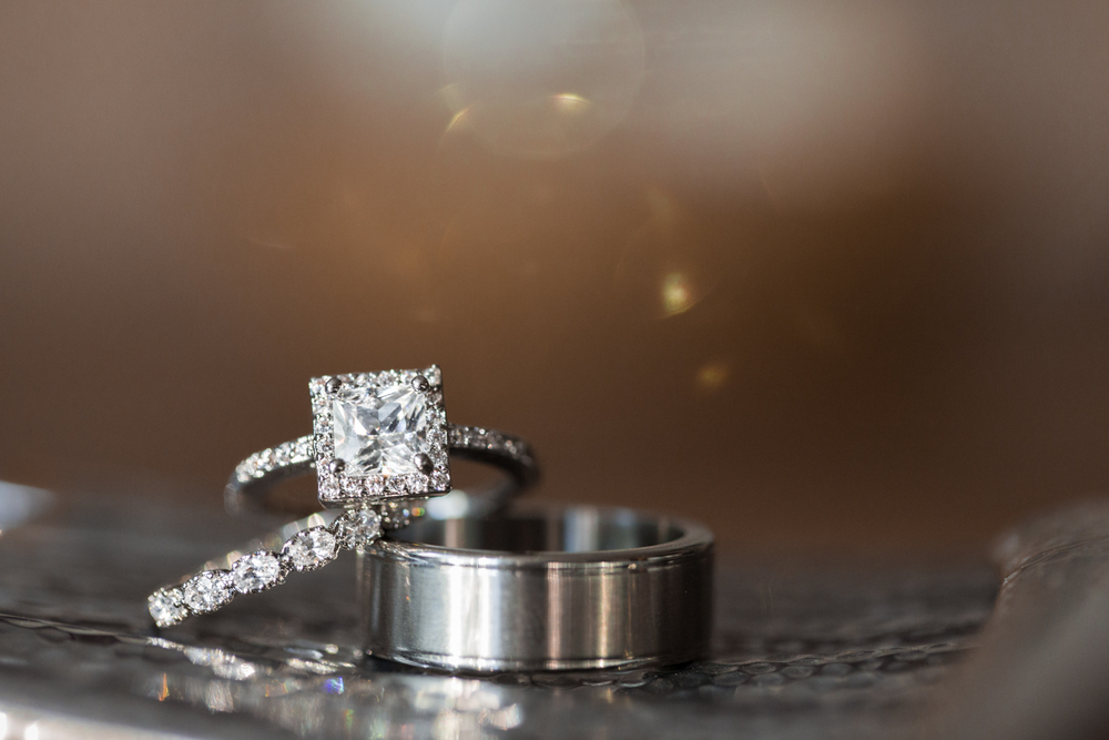 beautiful princess cut square engagement ring ann arbor photography
