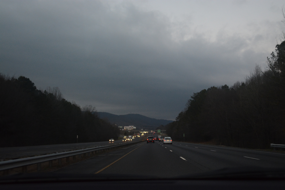 Tennessee Mountains before the snow started