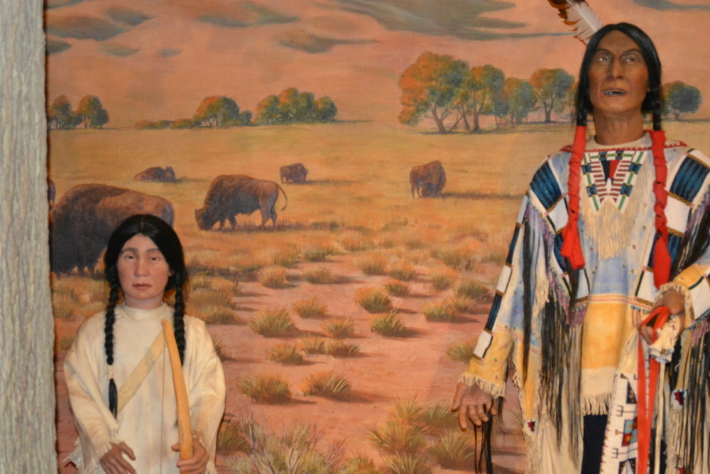 Animated Native Americans who tell stories