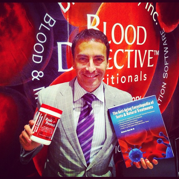 Blood detective books and supplement line
