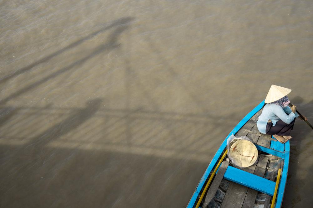 Steering the Mekong River