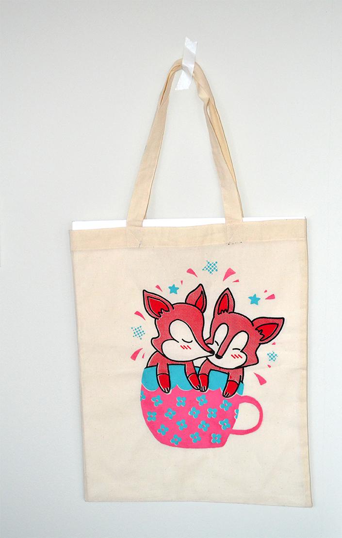 Full-Time Consumer of Milk Fox Tea bag
