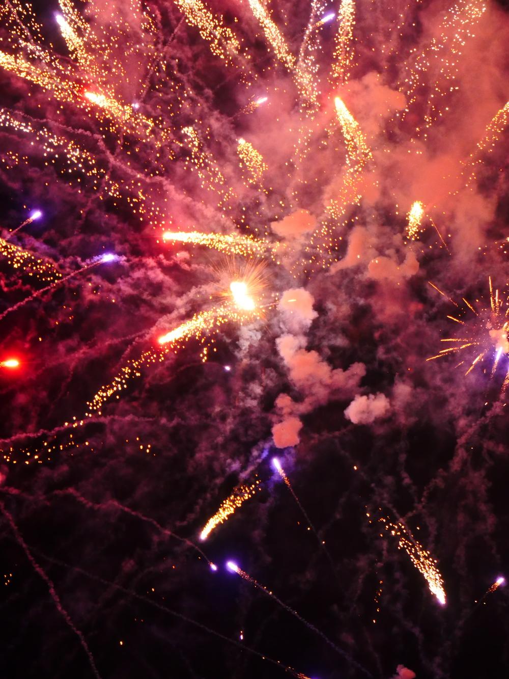 asheville fireworks