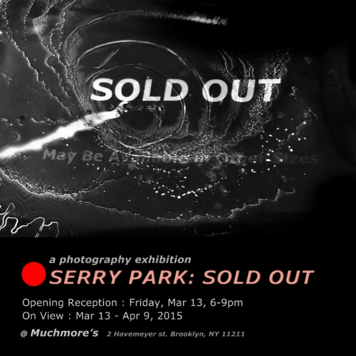 Cafe Show @ Muchmore's  Photograms: SOLD OUT  2015
