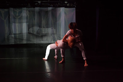 I'm Here in collaboration with Mei Yamanaka and Misuzu Hara  Collabo Fest @ Triskellion theater, Brooklyn, NY 2015