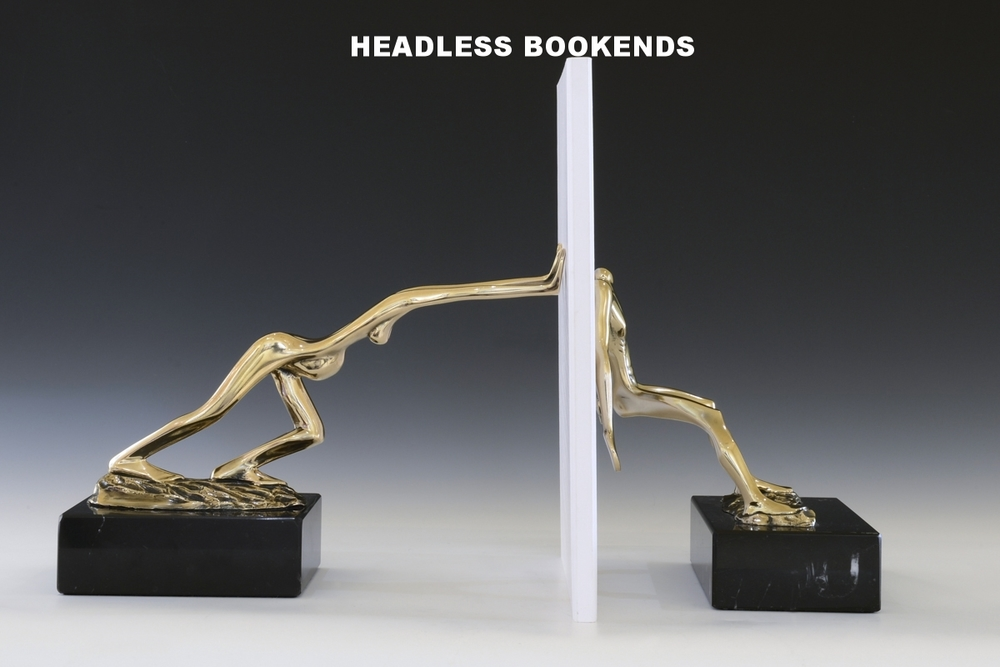 HEADLESS BOOKENDS *(out of edition)