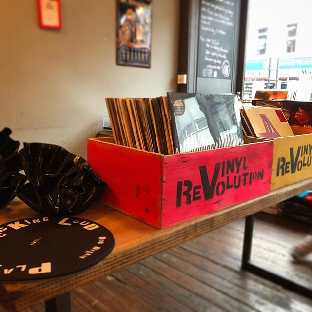 We've got the @vinylrevolutionuk team in today with a heap of awesome new & vintage records for you all!  12 - 5pm, Tunbridge Wells  #recordstore #popup #vinyl #vintage #beerandmusic #tunbridgewells