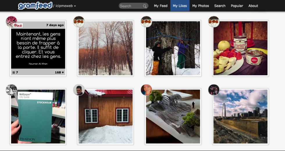 Outils pour Instagram