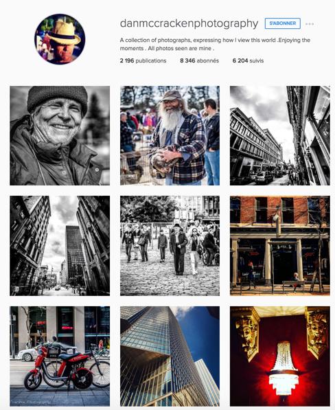 Photographe sur Instagram - ici PME WEB