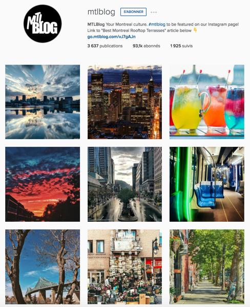 Idées de stratégie pour Instagram