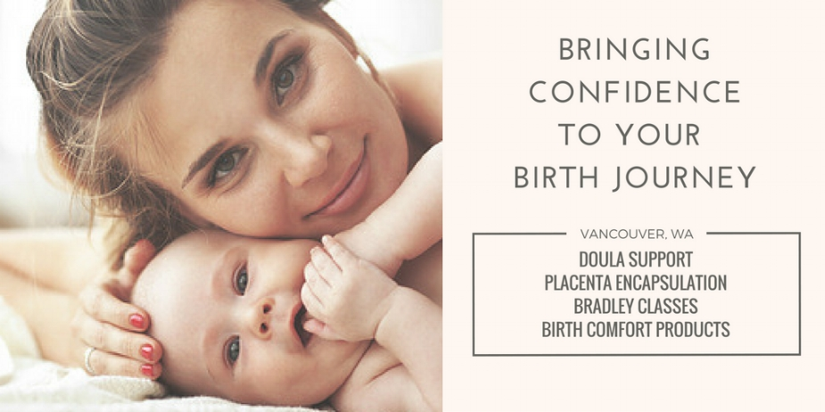 Birth support Vancouver Washington | hospital doula Vancouver Washington