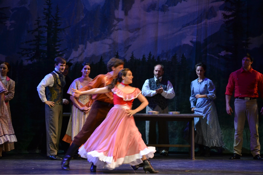 Seven Brides for Seven Brothers with Ocean Professional Theatre Co