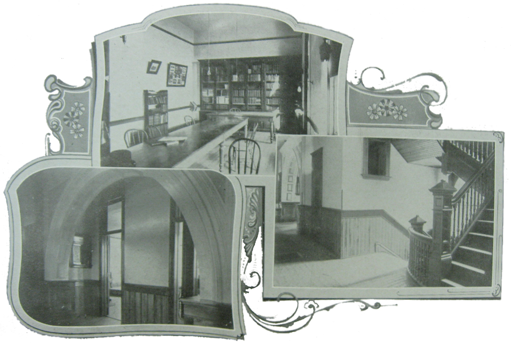 Park Region Luther College Interiors, circa 1902