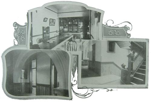 Park Region Luther College Interiors, circa 1902