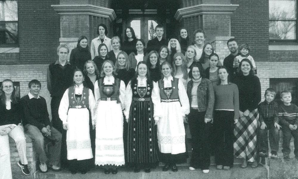 One of the first Norwegian classes from the Danielsen School in Bergen, Norway.