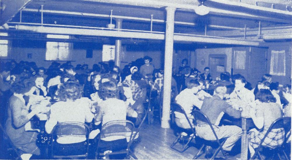 Cafeteria, 1945