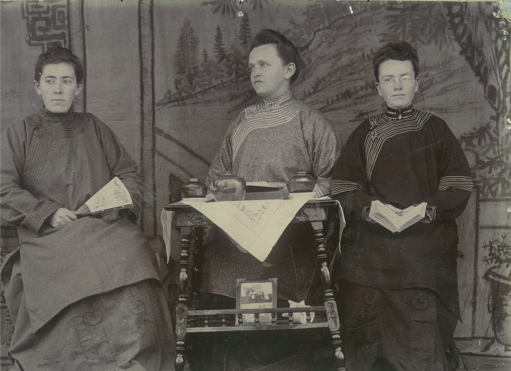 Caroline Rasmussen, Ida Walen, and Marie Harstad were 1904 graduates of the Lutheran Bible School, what later spun-off HIllcrest Academy. Their Biblically-based training with mentors who loved Scripture propelled them to China before a worldwide effort to evangelize the populated country at that time.