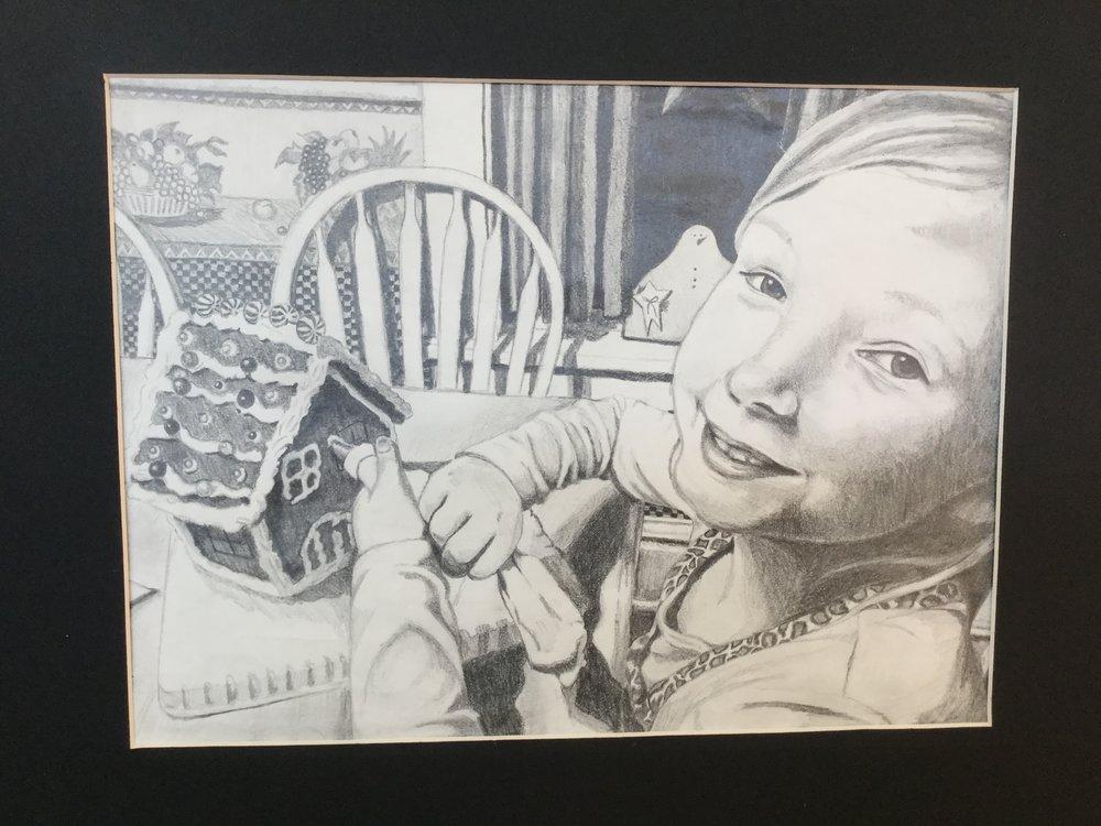 Alisabeth Boyum's Pencil Drawing