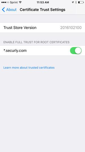 WiFi Certificate Install — Hillcrest Academy