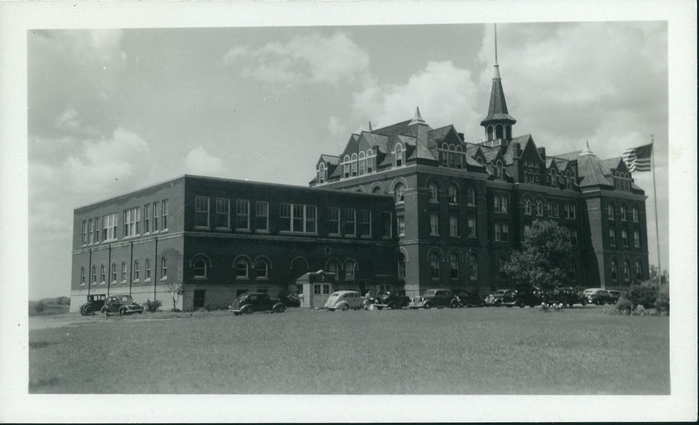 Hillcrest Academy in the 1940s.